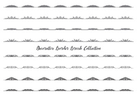 Decorative Border/Divider Brush Collection