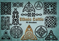 20 Ethnic Celtic PS Brushes abr. vol.21