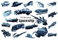 20 Spaceship PS Brushes abr. vol.5