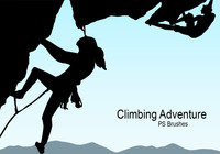 20 Climbing Adventure PS Brushes abr. Vol.14