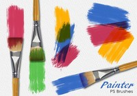 20 Painter PS Brushes abr.Vol.9