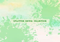 Splatter Penselen Collectie
