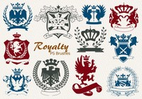 20 Royalty Emblem PS Brushes abr. vol.4