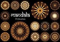 20 Mandala PS Brushes abr. vol.14