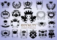 20 Royalty Emblem PS Brushes abr. vol.3