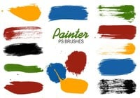 Paint Swatches PS Brushes