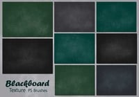 20 Blackboard Texture PS Pinceles abr. Vol.10