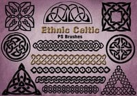 20 Ethnic Celtic PS Brushes abr. vol.22
