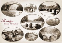 20 Gravure Bridge PS Brushes abr. Vol.4