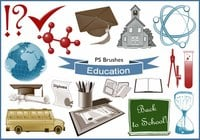 20 Education Ps Brushes abr. vol.13