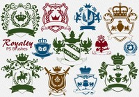 20 Royalty Emblem PS Brushes abr. vol.5