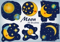 20 Happy Moon Ps Brushes abr vol.8