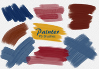 20 Painter PS Brushes abr.Vol.10