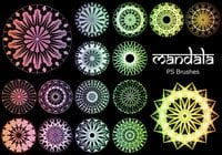 20 Mandala PS Brushes abr. vol.15
