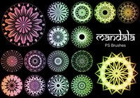 20 Mandala PS Pinceles abr. vol.15