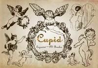 20 pinceles gravados Cupid PS abr. Vol.6