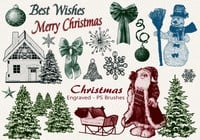20 Christmas PS Brushes abr. Vol.11