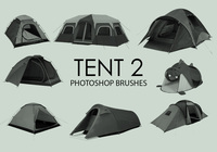 Gratis Tent Photoshop Borstels 2
