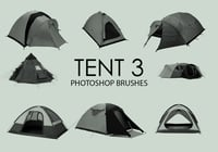 Free Tent Photoshop Brushes 3