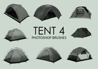 Gratis Tent Photoshop Borstels 4