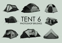 Free Tent Photoshop Brushes 6