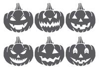 Escovas de abóbora assustadores de Halloween