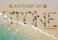 26 Stone Letters PS Brushes abr. Vol.7
