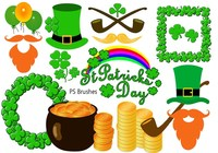 """20 """"St Patricks Day"""" PS Brushes abr.Vol.9"""