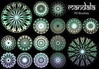 20 Mandala PS Brushes abr. vol.16