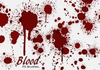 20 Blood Splatter PS Pinceles abr vol.8