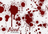 20 Blood Splatter PS Brushes abr vol.8