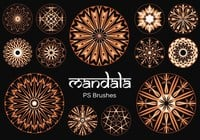 20 Mandala PS Brushes abr. vol.17