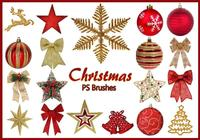 20 Christmas PS Brushes abr. Vol.13