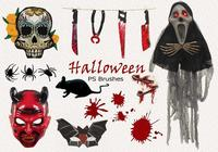 20 Halloween PS Brushes abr. Vol.16