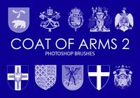 Free Coat of Arms Photoshop Brushes 2