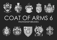 Free Coat of Arms Pinceles para Photoshop 6