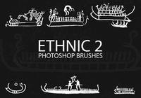 Free Ethnic Photoshop Brushes 2