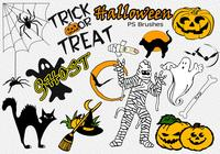 20 Halloween PS Brushes abr. Vol.12