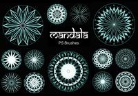20 Mandala PS Brushes abr. vol.18