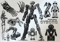 20 cyborg ps brushes abr.vol.4