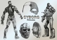 20 Cyborg PS Brushes abr.vol.2