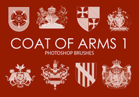 Free Coat of Arms Photoshop Brushes 1