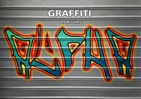 26 Graffiti Alpha Set PS Brushes abr. Vol.18