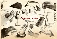 20 Hand PS Brushes abr.Vol.13