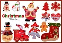 20 Christmas PS Brushes abr. Vol.14