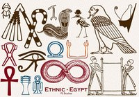 20 Ethnic Egypt PS Brushes abr. vol.23