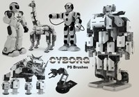 20 Cyborg PS Brushes abr.vol.5