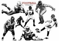 20 Football Ps Brushes abr. vol 11