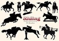 20 Riding Adventure PS Brushes abr. Vol.17