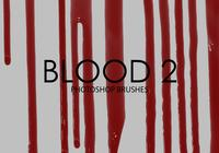 Free Blood Photoshop Brushes 2